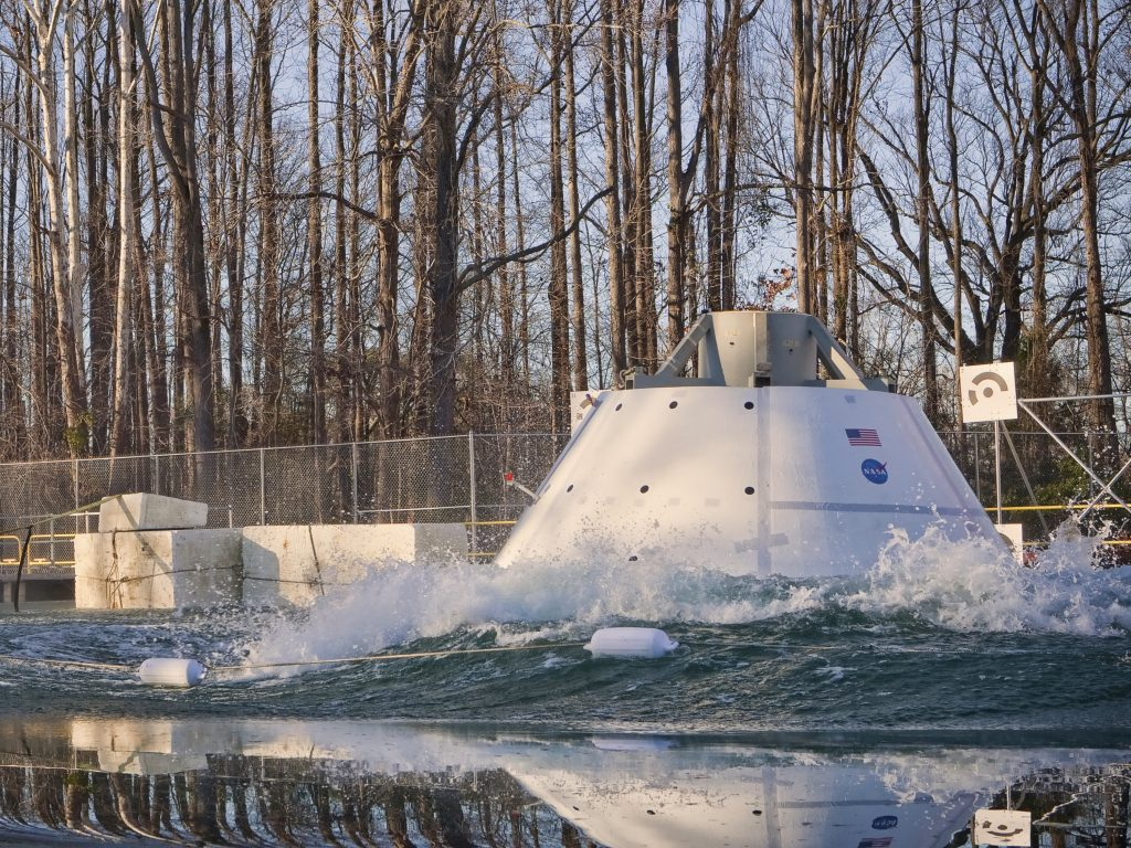 Orion makes a splash in testing