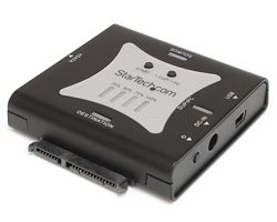 StarTech Portable eSATA USB to SATA Standalone HDD Hard Drive Duplicator Dock
