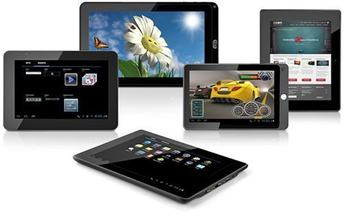 coby android tablets