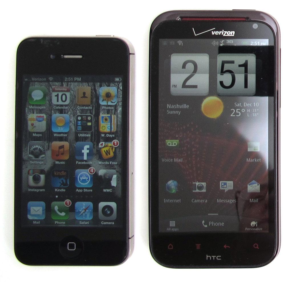 Verizon HTC Rezound Smartphone Review
