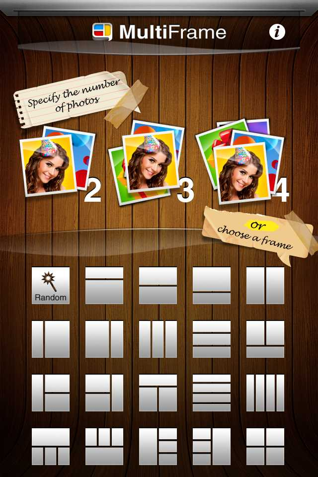 MultiFrame iOS Photo Collage App – The Gadgeteer