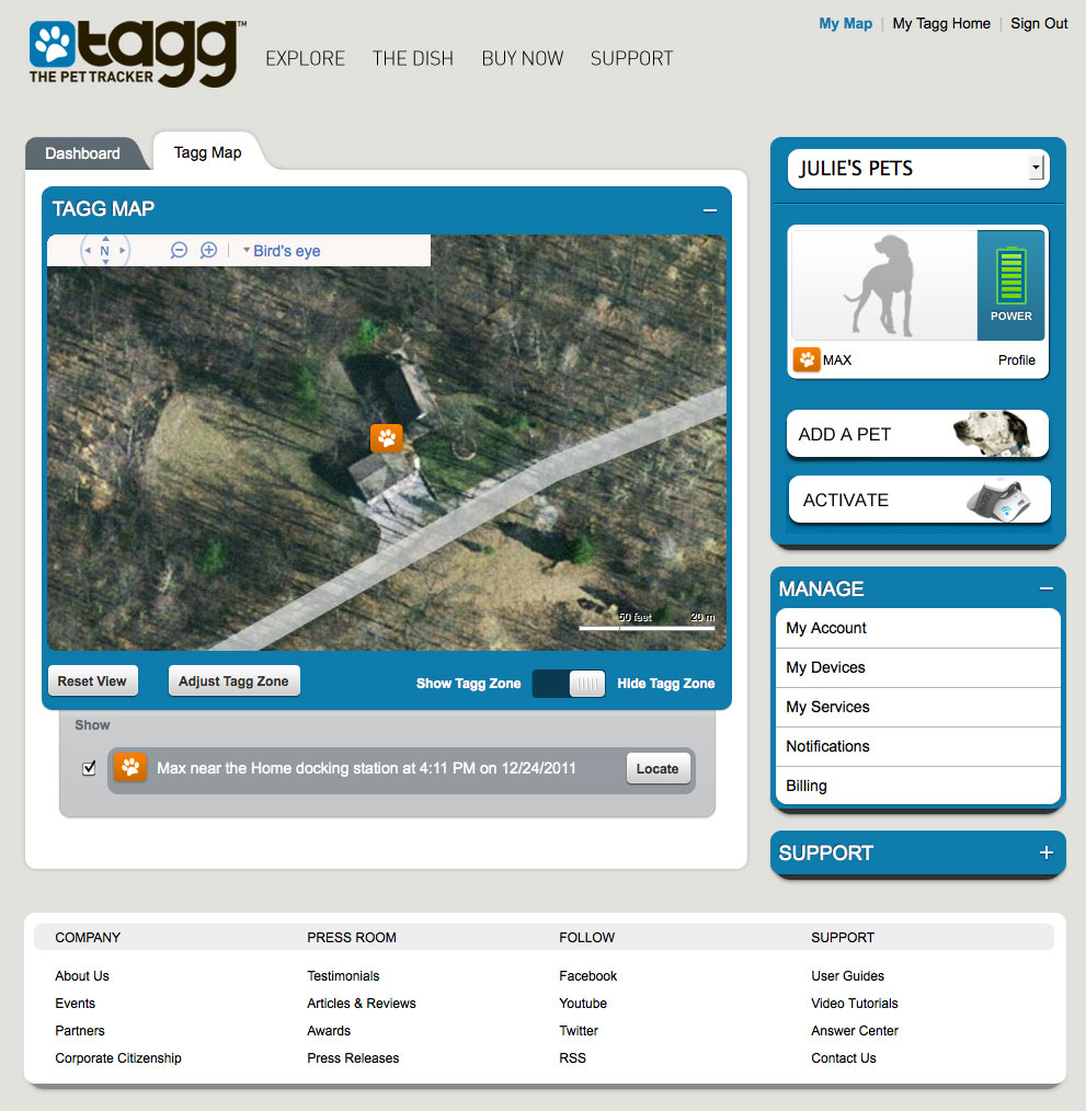 Coupon tagg pet tracker