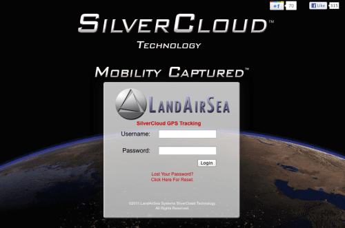 Landairsea Silvercloud Real Time Gps Tracking System