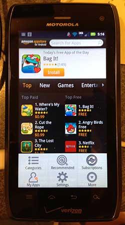 amazon saving app