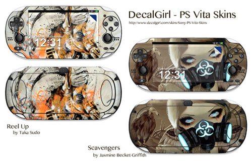 decal girl sony ps vita skins