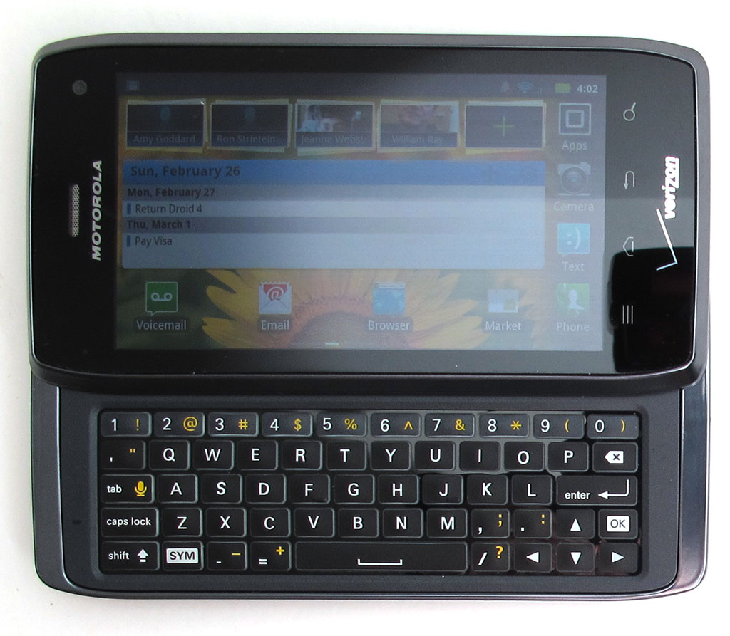 Motorola Droid 4 Review The Gadgeteer