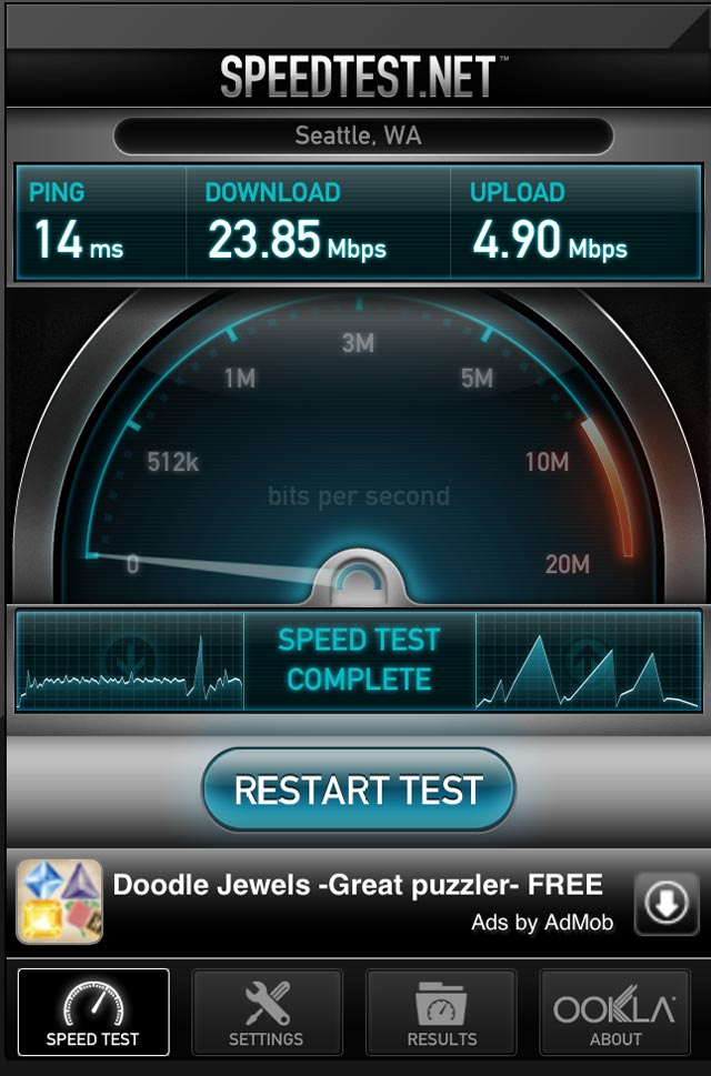 iphone wifi speed test tools wifi speed test 9556