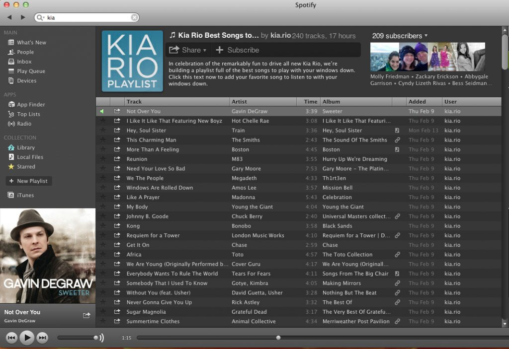 Kia Rio and Spotify Want to Know What's Your Best Songs to Play With