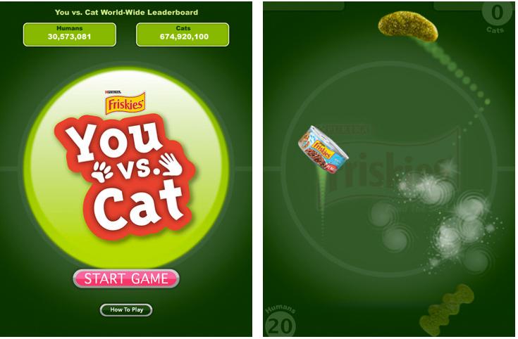 Friskies Cat Game App