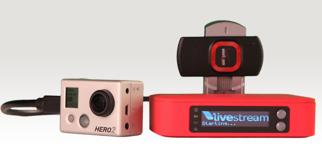 Live hd broadcasting for any camera with live stream for Camera streaming live