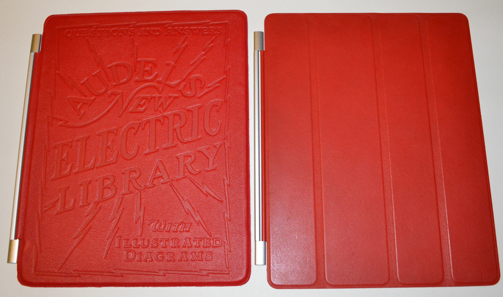Electric library embossed ipad 2 and new ipad smart for Ipad kitchen scale