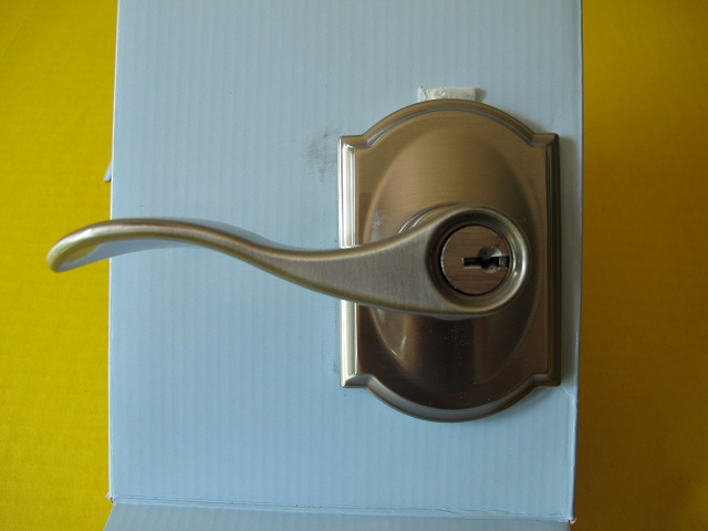 Dannycoleman77 Schlage Keyed Entry Lock With Built In