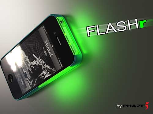 led notification iphone flashr adds color led notifications to your iphone the 12567
