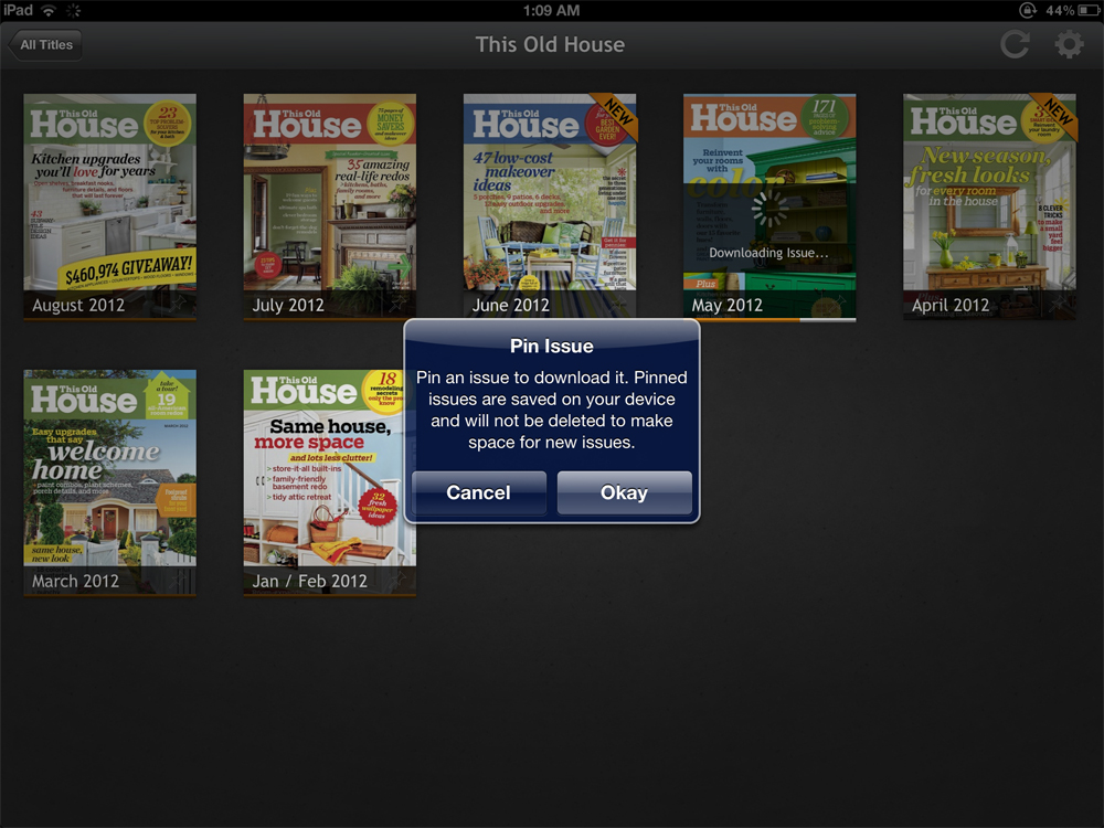 Next Issue Magazine App for iPad Review – The Gadgeteer