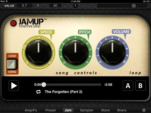 positive grid jamup plug 12