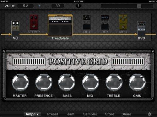 positive grid jamup plug 9