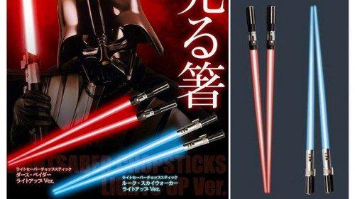 saber chopsticks