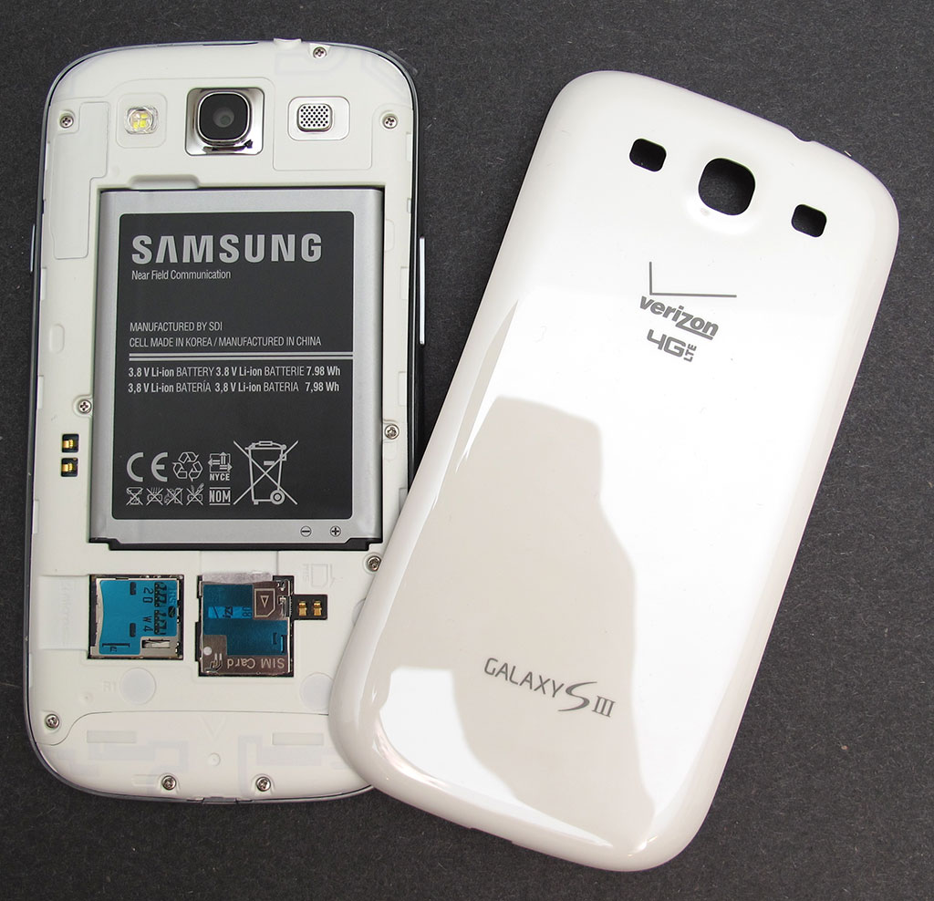 Samsung Galaxy SIII from Verizon Review