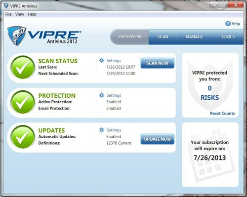 VIPRE ANTIVIRUS CRACKED DOWNLOAD