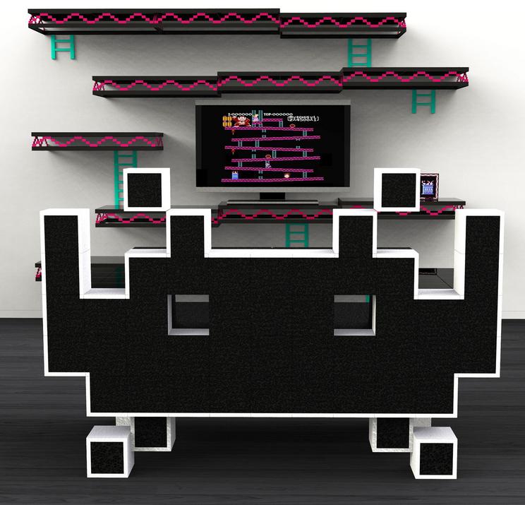Ivor Chak Retro Gaming Furniture