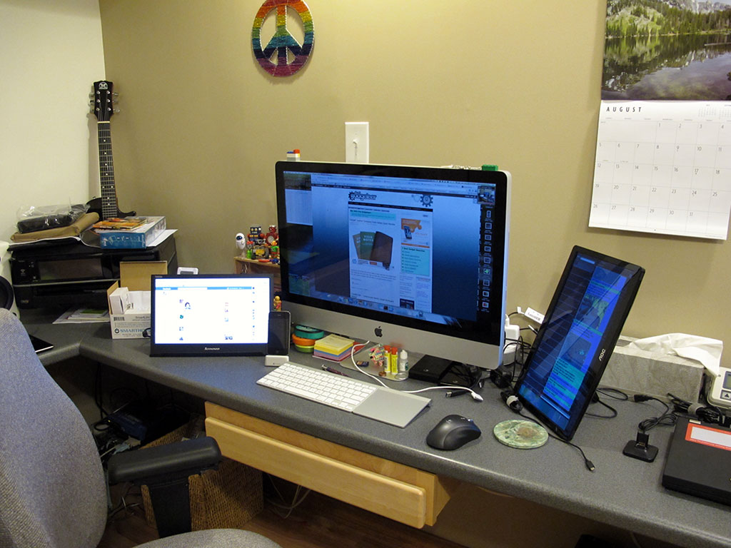 Julie's Gadget Diary - Goodbye iMac, You Will be Missed - The Gadgeteer