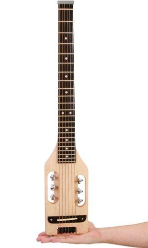 lightest packable guitar