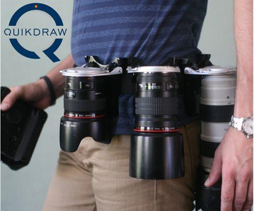 quikdraw lens holder belt