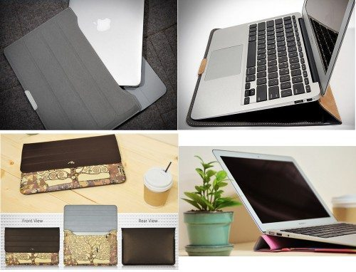 macbook air case and stand