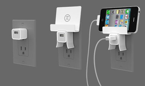 pi mount for iphone charger