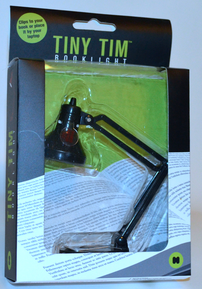 Tiny Tim Book Light By Mustard Review The Gadgeteer