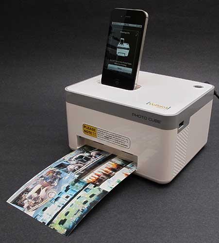 Photo Cube Compact Photo Printer Cube Photo Printer Review