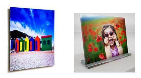 aluminize photo prints