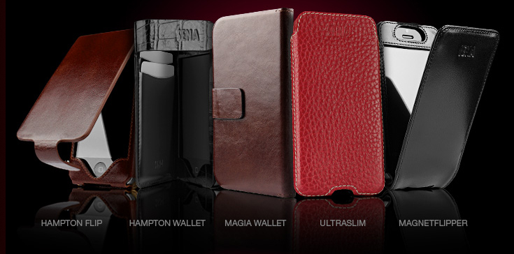 finest selection d9784 5b638 Sena Cases Extends Their Line of Premium Leather Cases to Include ...