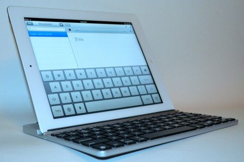 zaggkeys solo keyboard zaggfolio case ipad 4