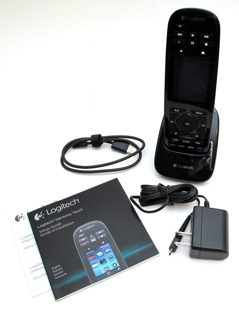 Logitech Harmony Touch Universal Remote review – The Gadgeteer