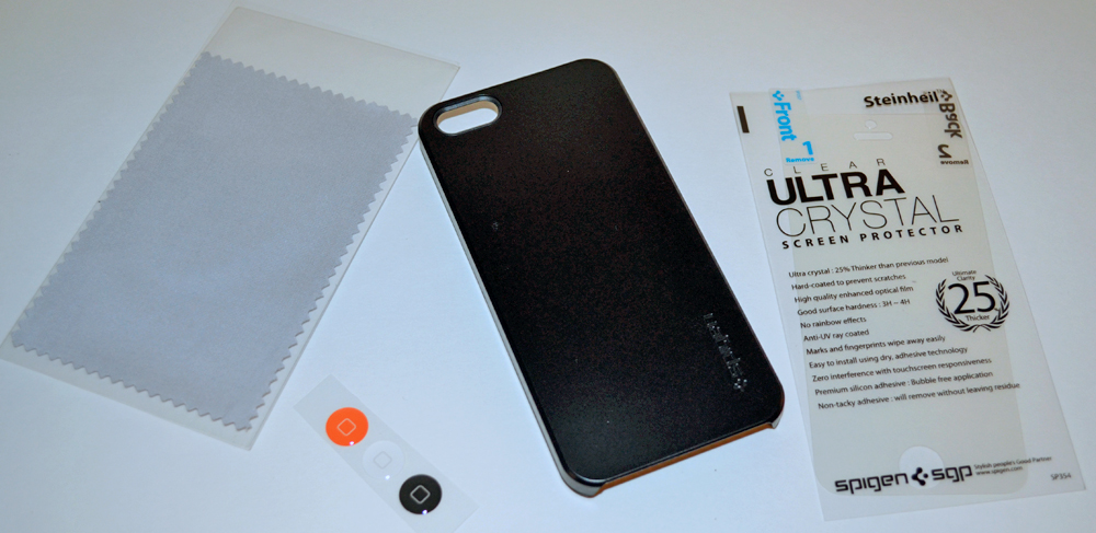 best loved f8801 88db9 SPIGEN SGP iPhone 5 case Ultra Thin Air review – The Gadgeteer