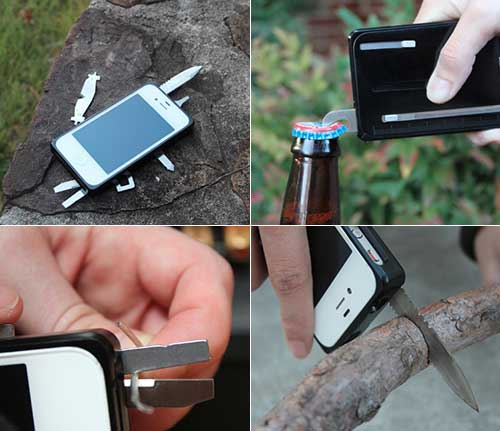 Taskone Case Turns Your Iphone Into A Swiss Army Knife