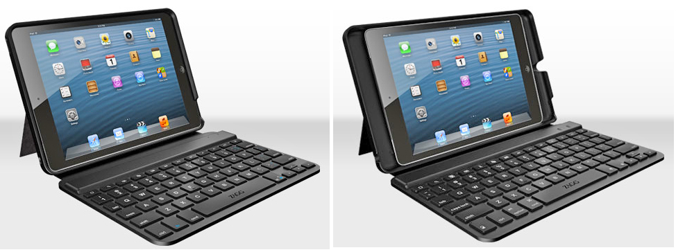buy online 74552 539ef ZAGG introduces two new keyboard cases for the iPad mini – the MINI ...