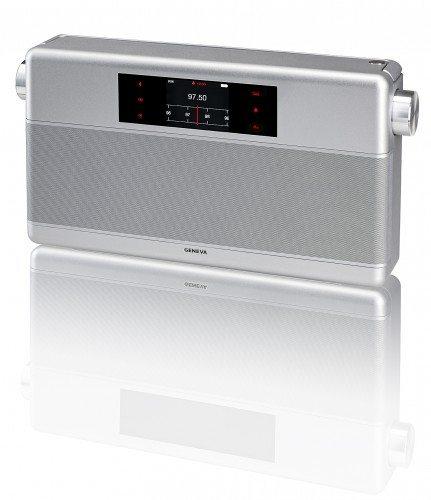 Geneva Sound System WorldRadio Silver Above