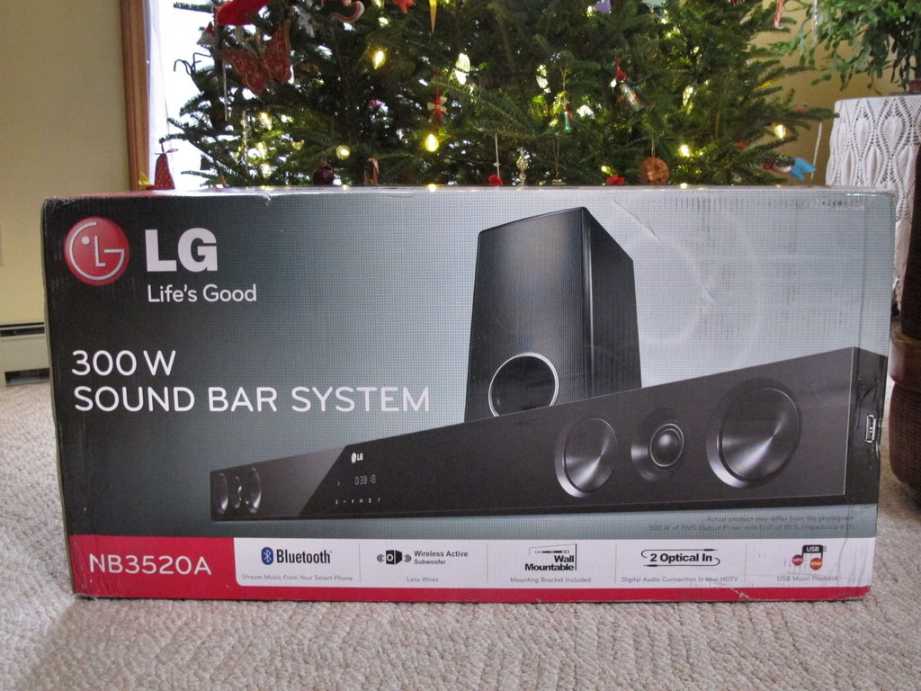 - LG 300W Sound Bar System Review