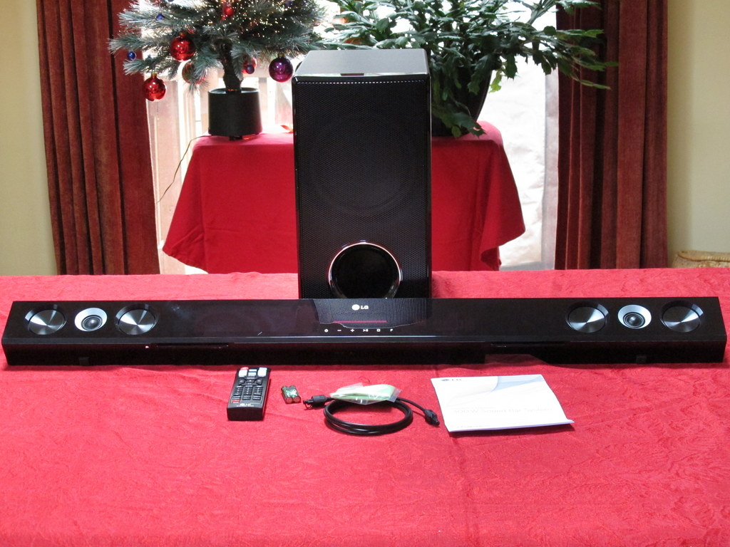 LG02 - LG 300W Sound Bar System Review