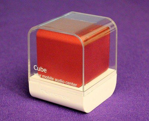 NuForce Cube Speaker 1