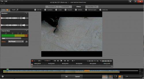 effects editor