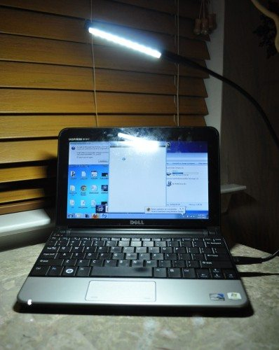 Lighting up my netbook