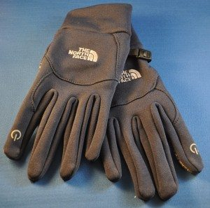 The stretchy eTip Driving gloves from North Face allow use of touch-based screens without baring your fingers to the chill air.