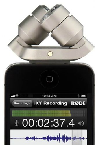 iXY stereo microphone for ios