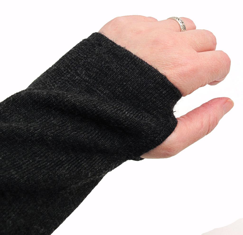 Thumb Hole Hoodie Cuffs Boys
