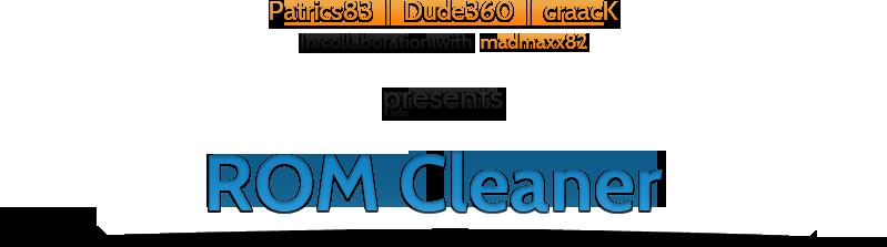RomCleaner