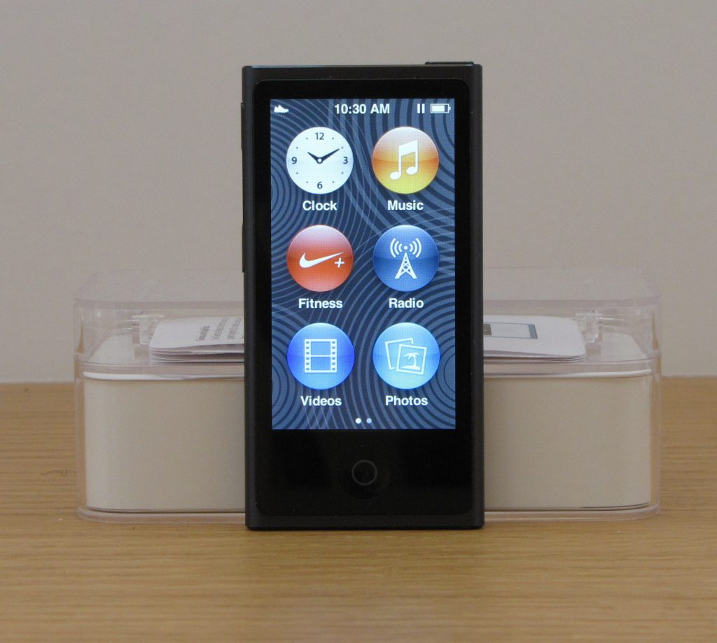 Apple iPod nano (7th generation) review - The Gadgeteer