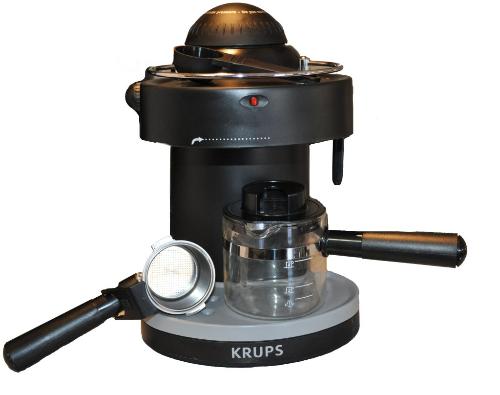 krups xp1000 solo steam espresso machine review the gadgeteer. Black Bedroom Furniture Sets. Home Design Ideas